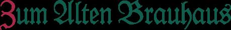 Zum Alten Brauhaus Logo