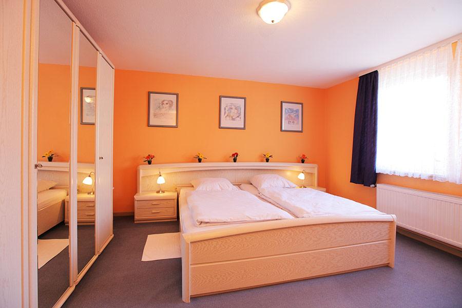 Appartement Schöneberg Schlafzimmer