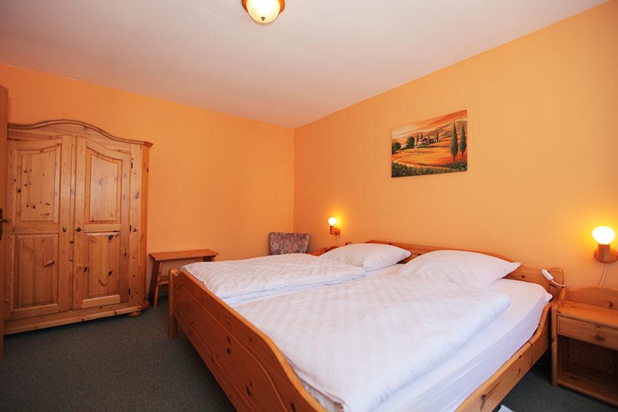 Schlafzimmer Appartement Westberg